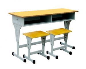 12HC-156 升降双人课桌凳